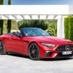 Mercedes представил новый кабриолет SL с 585-сильным мотором